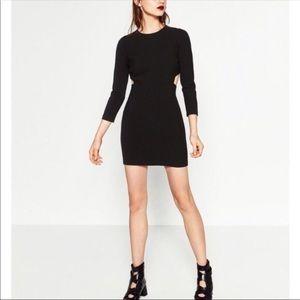 Zara bodycon dress with side openings